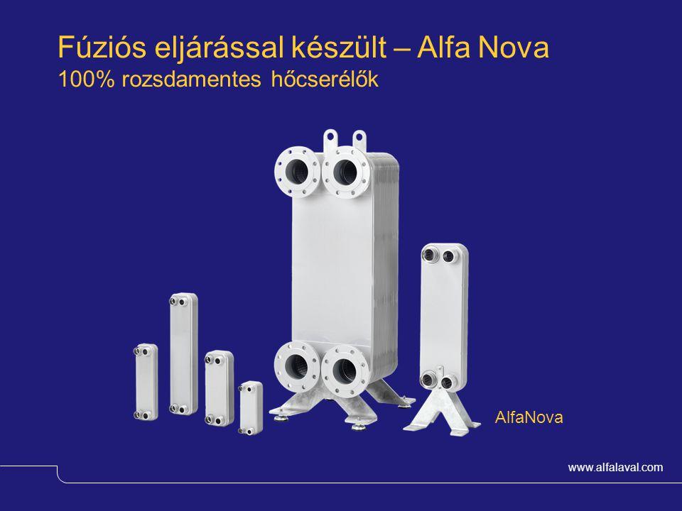 Fúziós eljárással készült – Alfa Nova