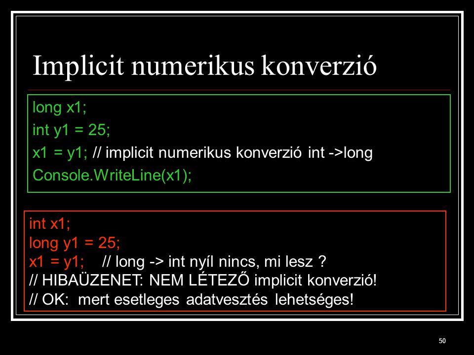Implicit numerikus konverzió