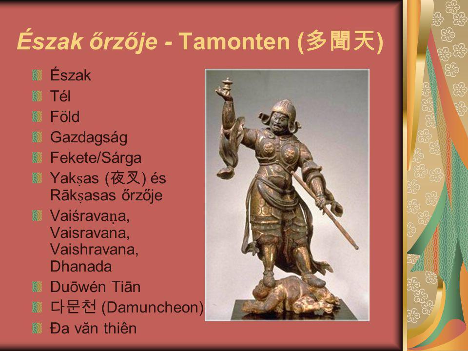 Észak őrzője - Tamonten (多聞天)
