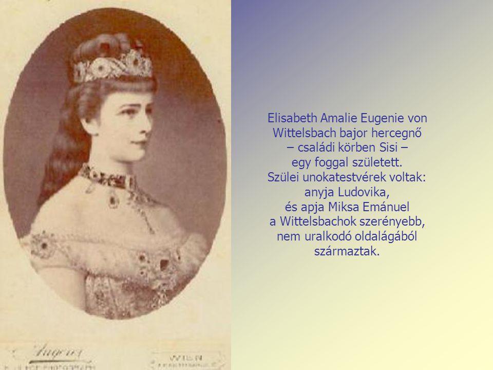 Elisabeth Amalie Eugenie von Wittelsbach bajor hercegnő