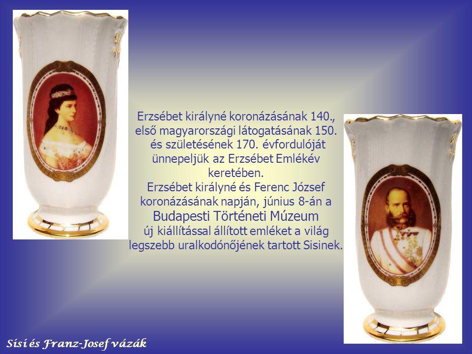 Sisi és Franz-Josef vázák