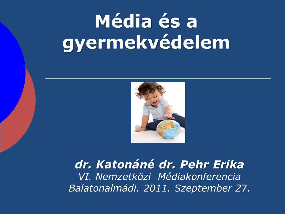 Média és a gyermekvédelem