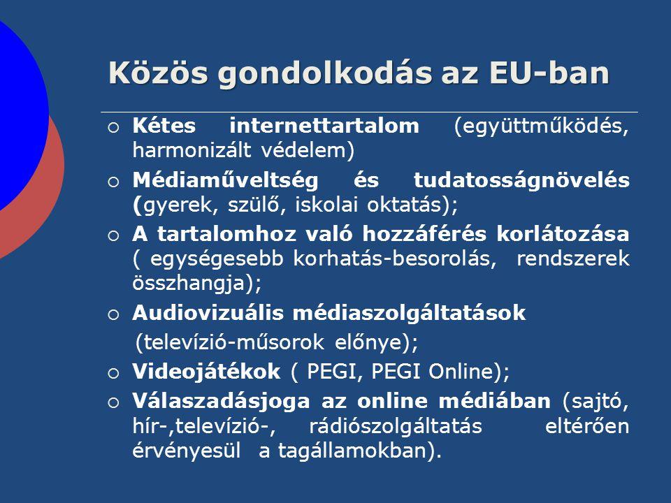 Közös gondolkodás az EU-ban