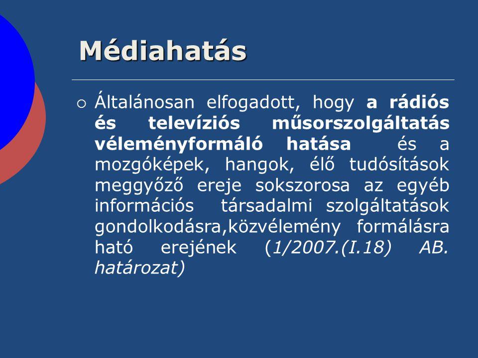 Médiahatás