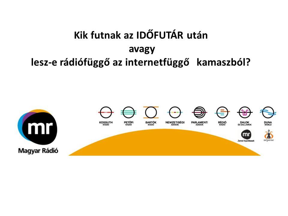 Kik futnak az IDŐFUTÁR után avagy lesz-e rádiófüggő az internetfüggő kamaszból