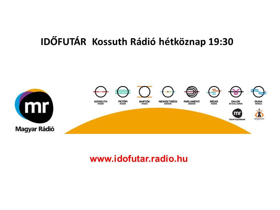 IDŐFUTÁR Kossuth Rádió hétköznap 19:30