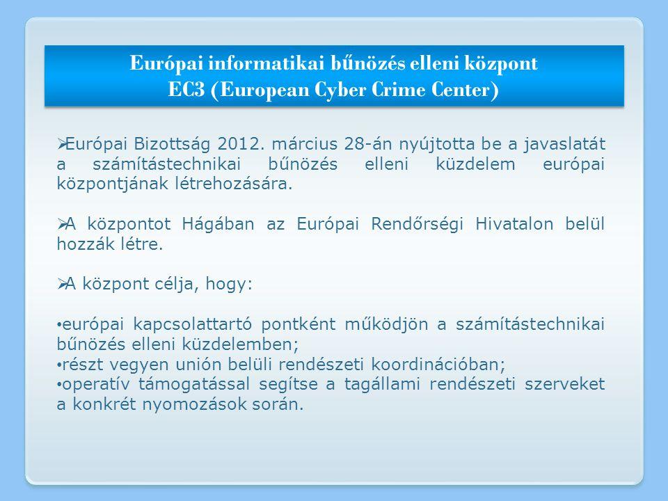 Európai informatikai bűnözés elleni központ