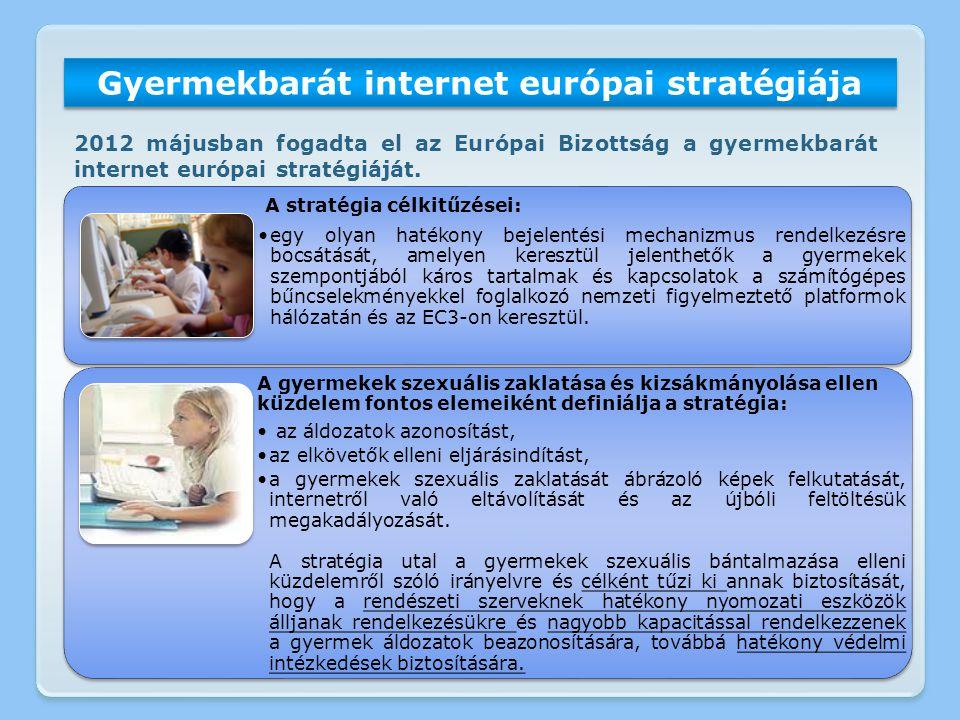 Gyermekbarát internet európai stratégiája