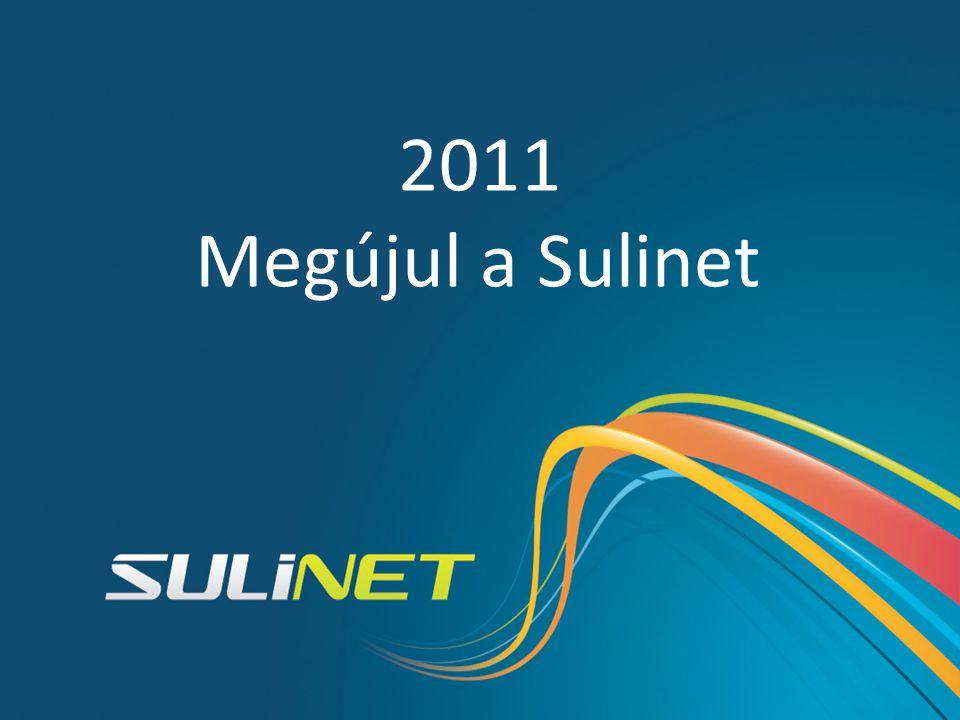2001 2011 Megújul a Sulinet 1998 2004 2010 2007 Sulinet történelem SDT