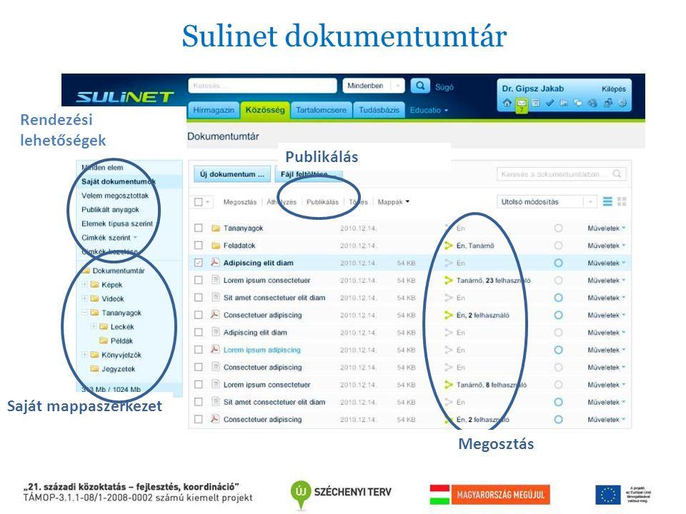 Sulinet dokumentumtár