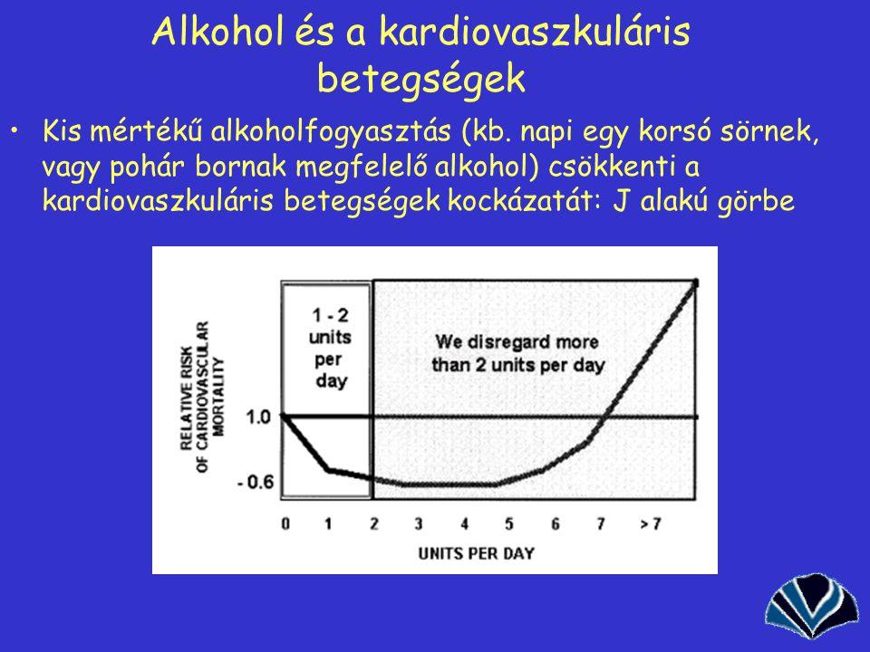 Alkohol és a kardiovaszkuláris betegségek