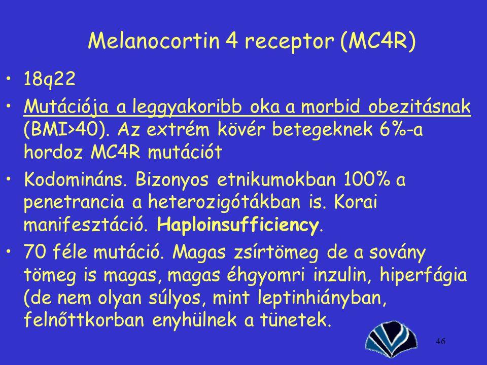 Melanocortin 4 receptor (MC4R)