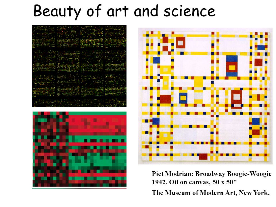Beauty of art and science