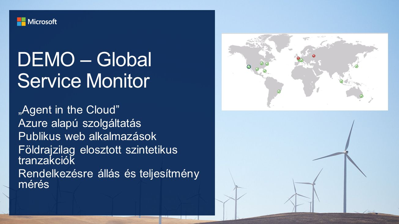DEMO – Global Service Monitor