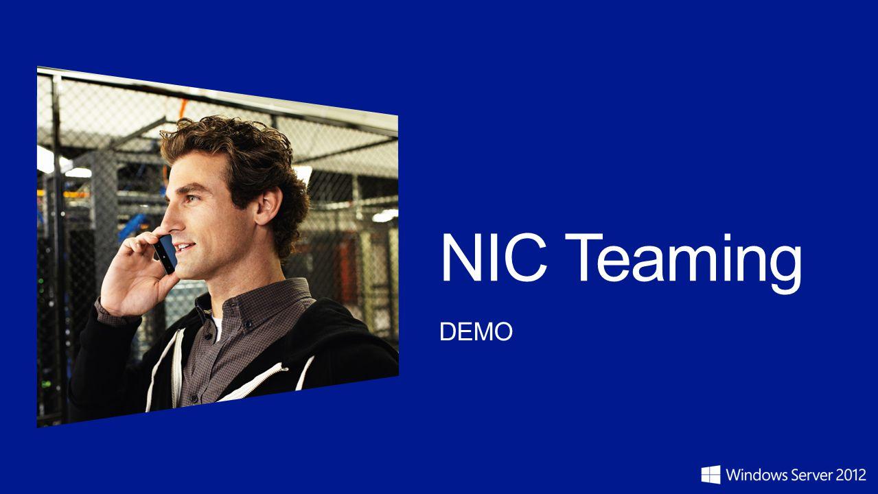 NIC Teaming DEMO