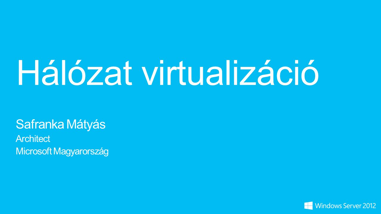 Hálózat virtualizáció