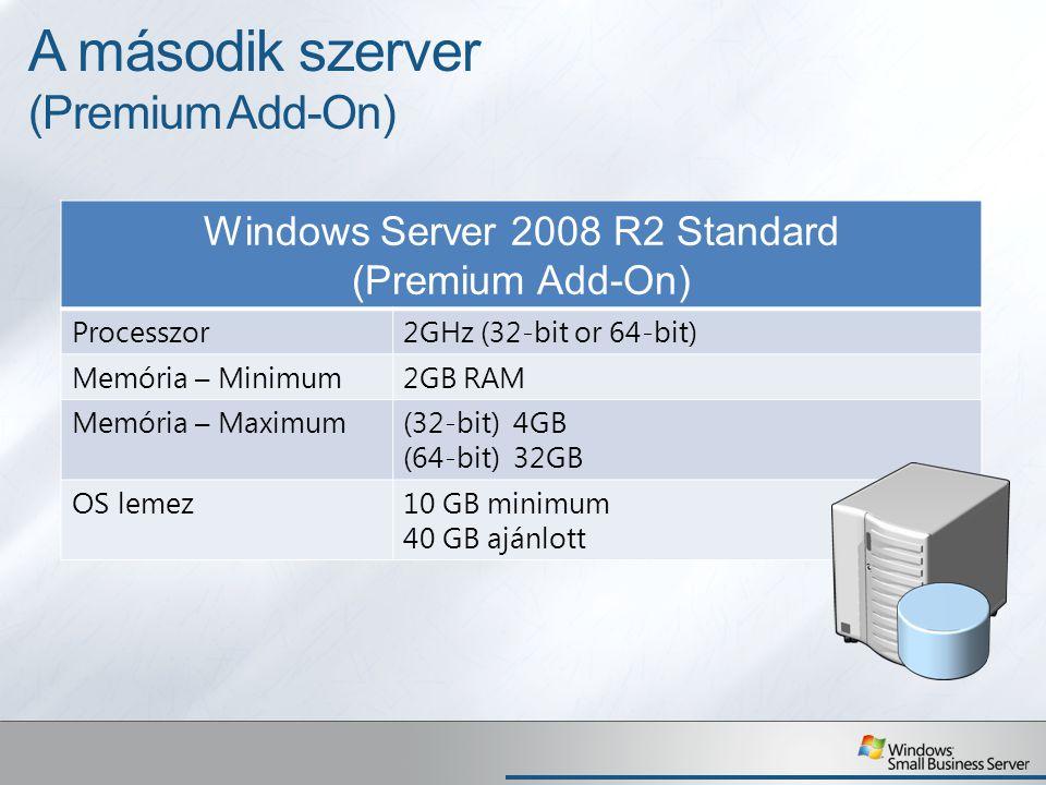 A második szerver (Premium Add-On)
