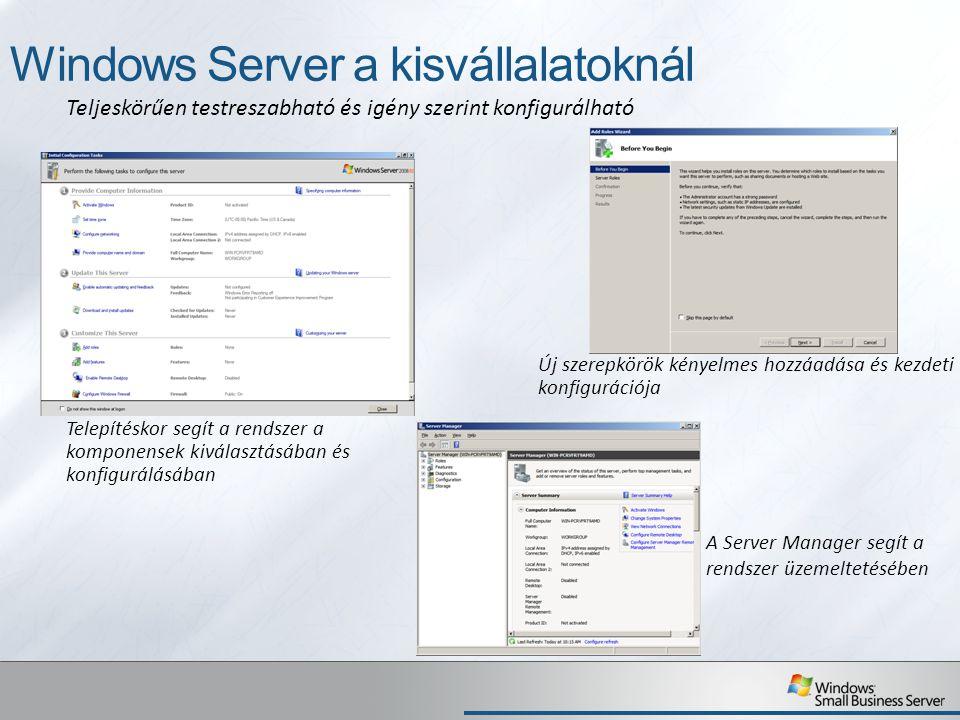 Windows Server a kisvállalatoknál