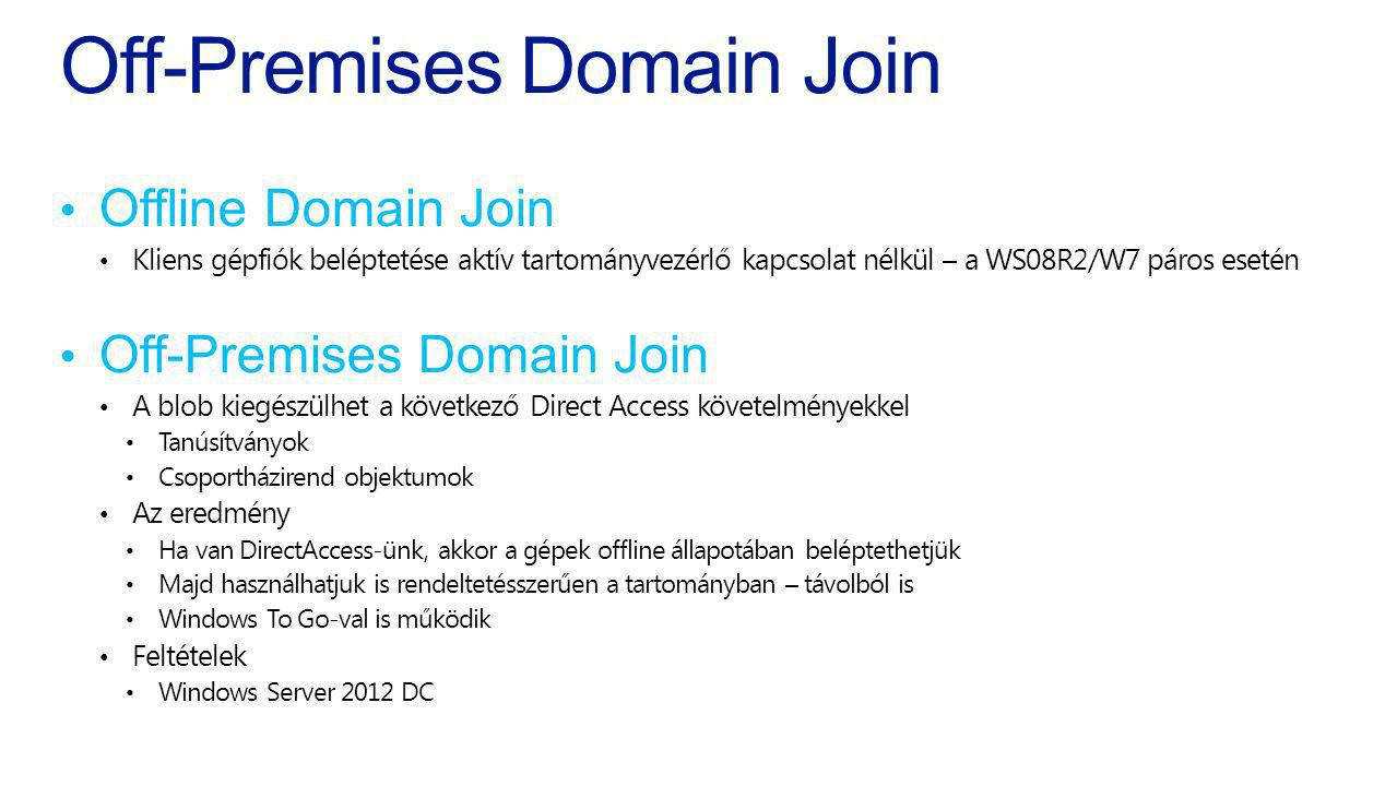 Off-Premises Domain Join