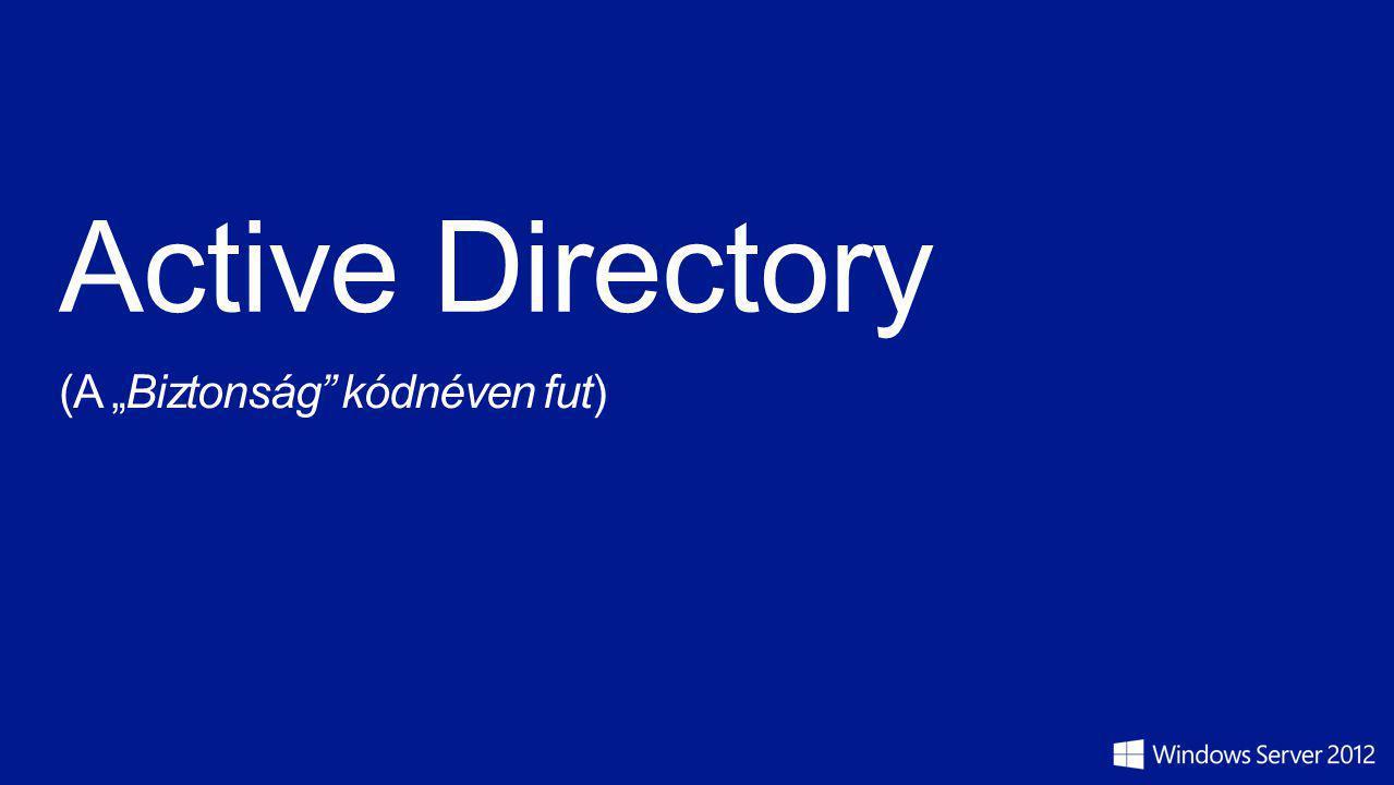 """Active Directory (A """"Biztonság kódnéven fut)"""