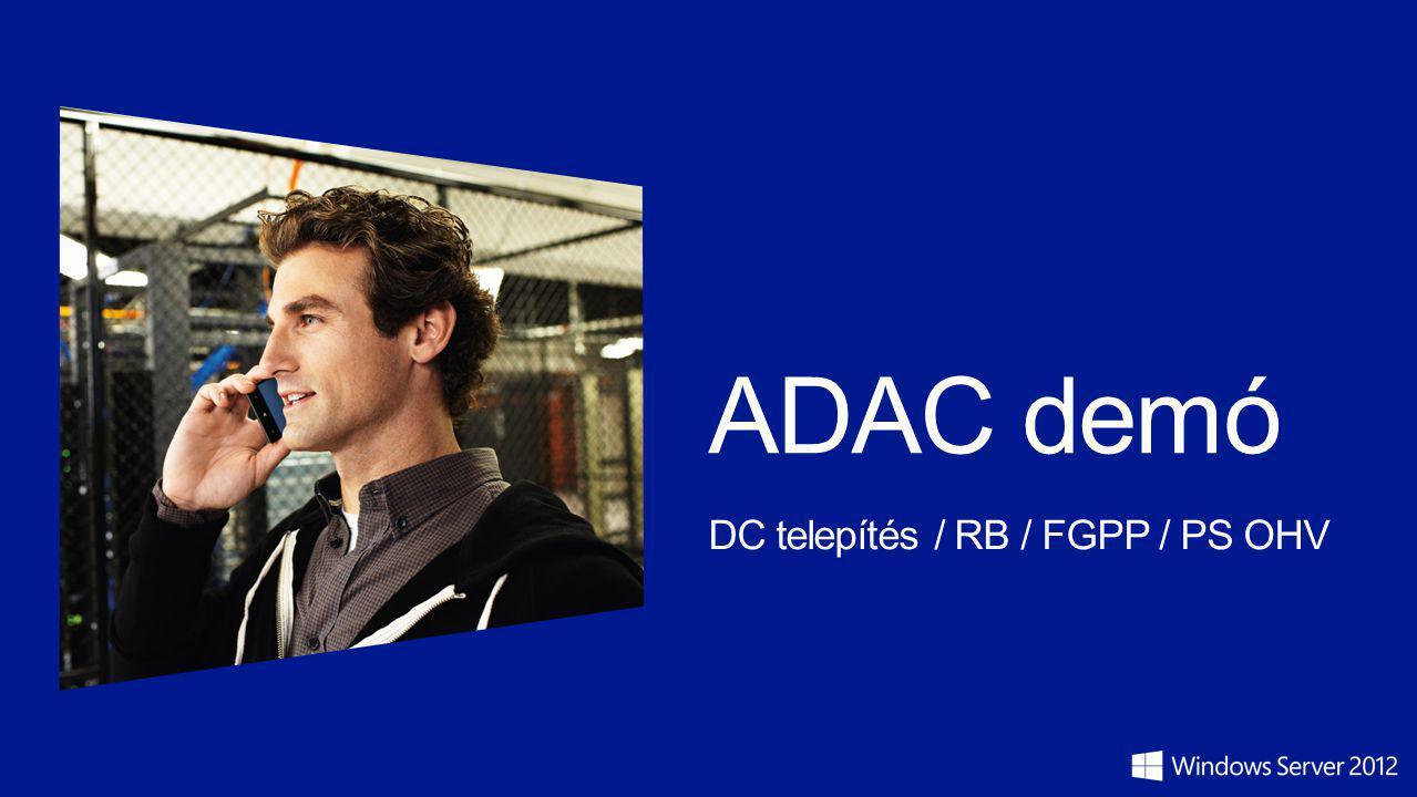 ADAC demó DC telepítés / RB / FGPP / PS OHV
