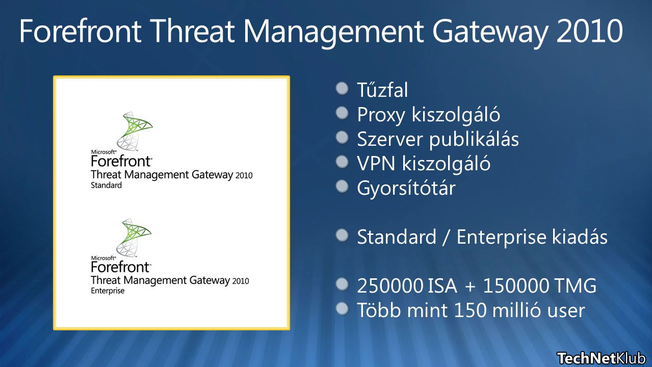Forefront Threat Management Gateway 2010