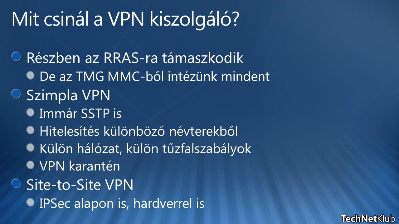 Mit csinál a VPN kiszolgáló