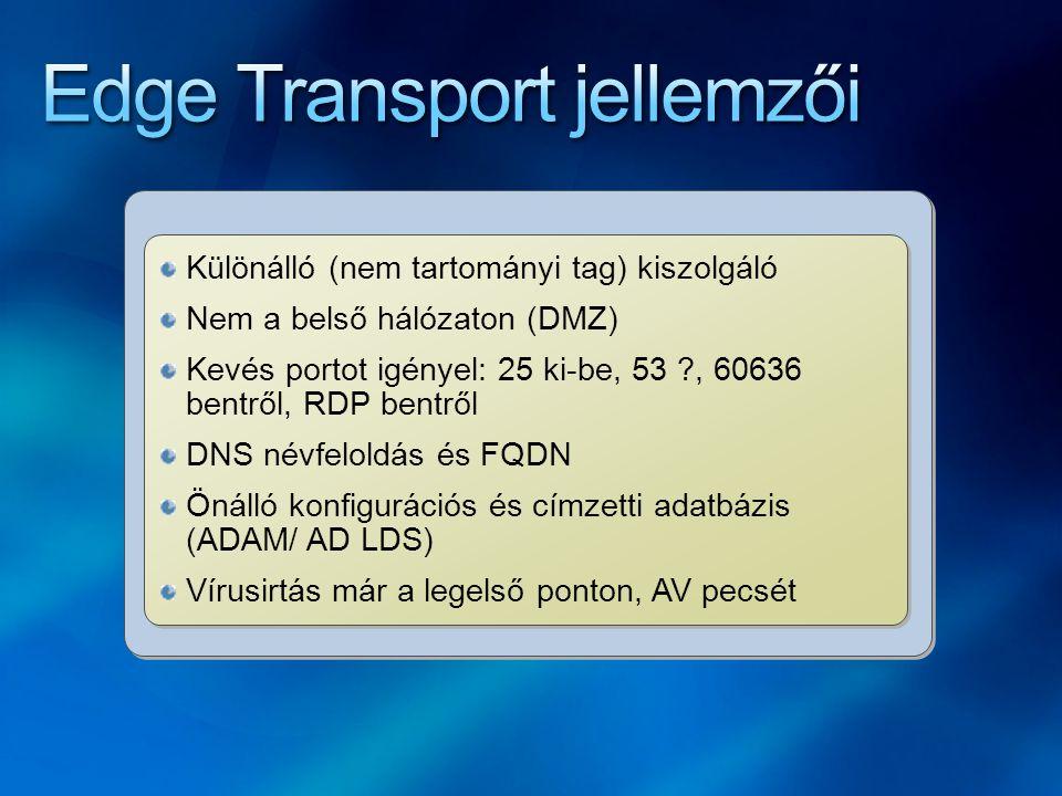 Edge Transport jellemzői