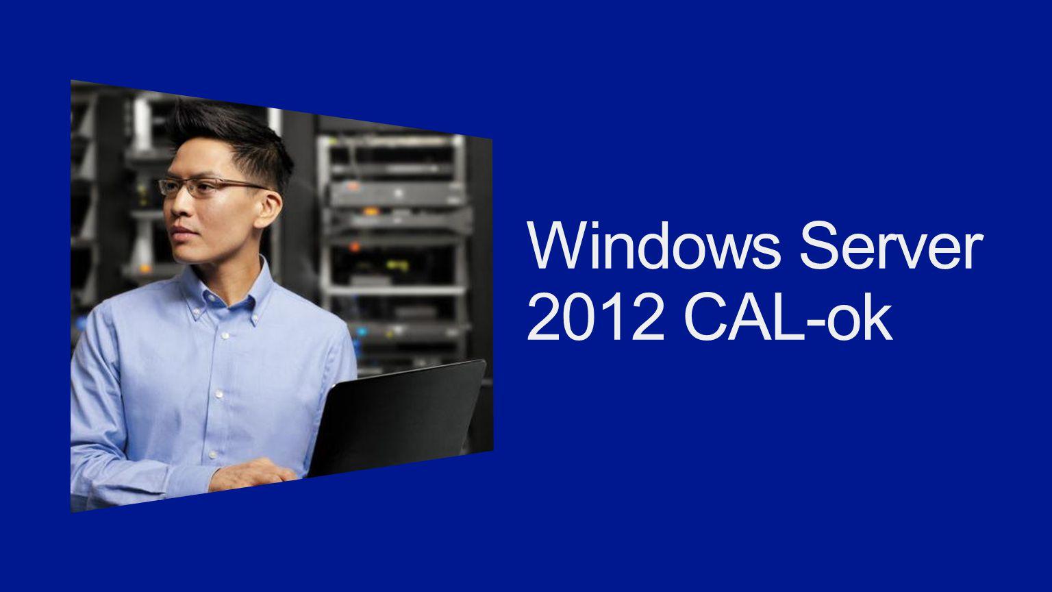 Windows Server 2012 CAL-ok