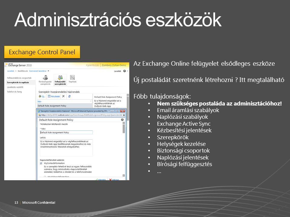 Adminisztrációs eszközök
