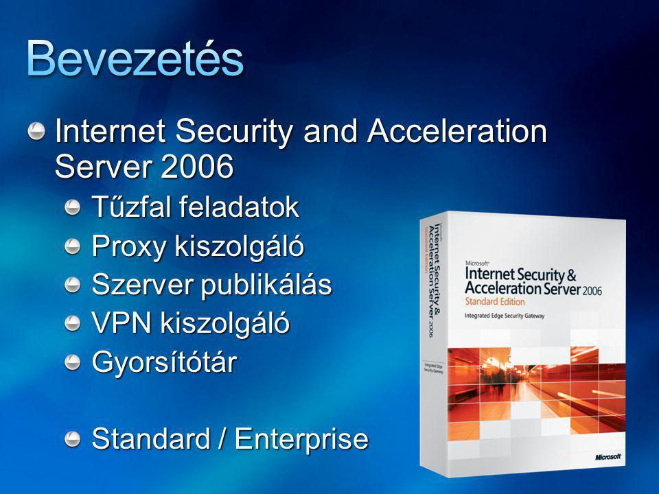 Bevezetés Internet Security and Acceleration Server 2006
