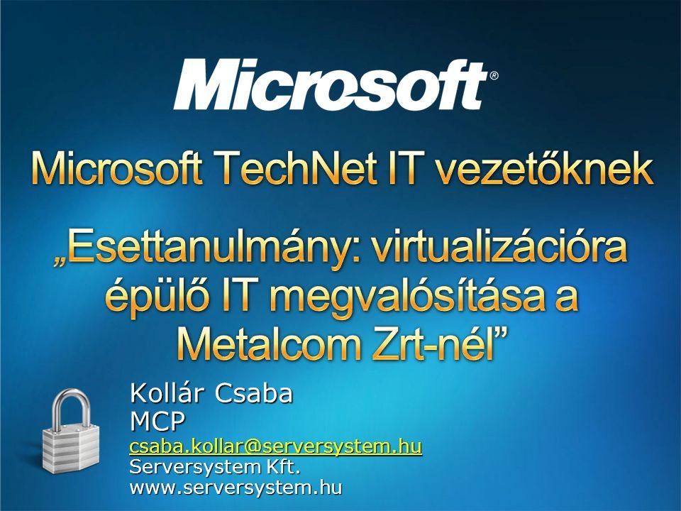 Microsoft TechNet IT vezetőknek
