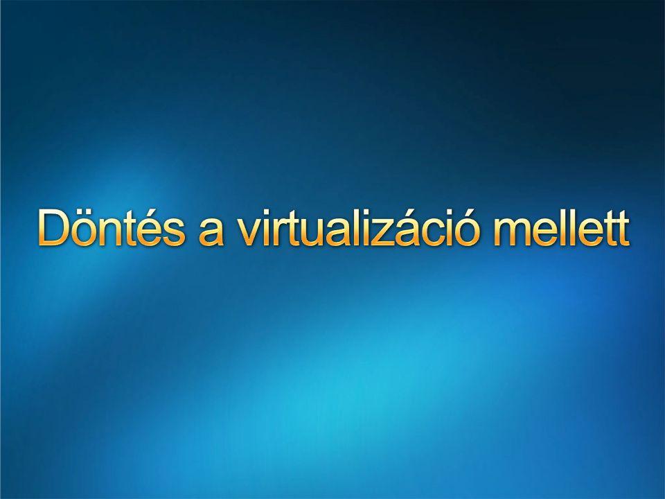 Döntés a virtualizáció mellett