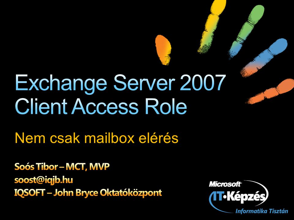 Exchange Server 2007 Client Access Role