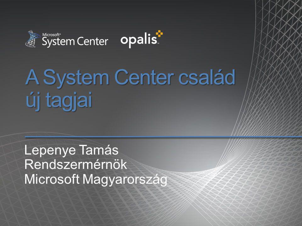A System Center család új tagjai