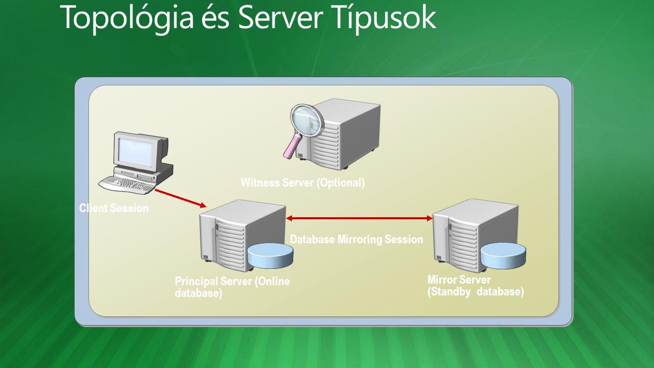 Topológia és Server Típusok