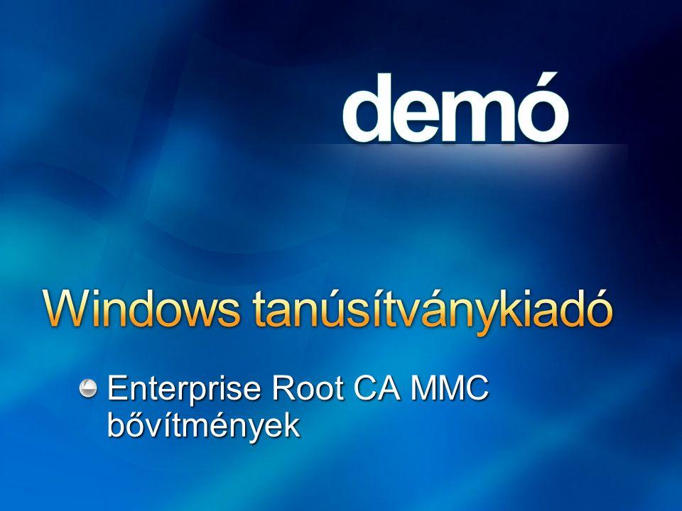 Windows tanúsítványkiadó