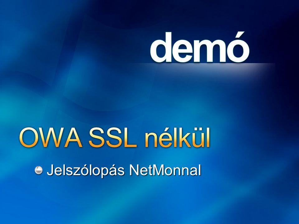 OWA SSL nélkül Jelszólopás NetMonnal