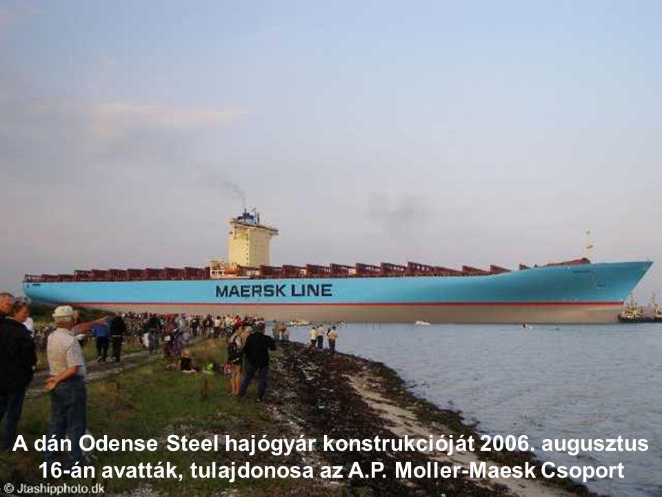 A dán Odense Steel hajógyár konstrukcióját 2006