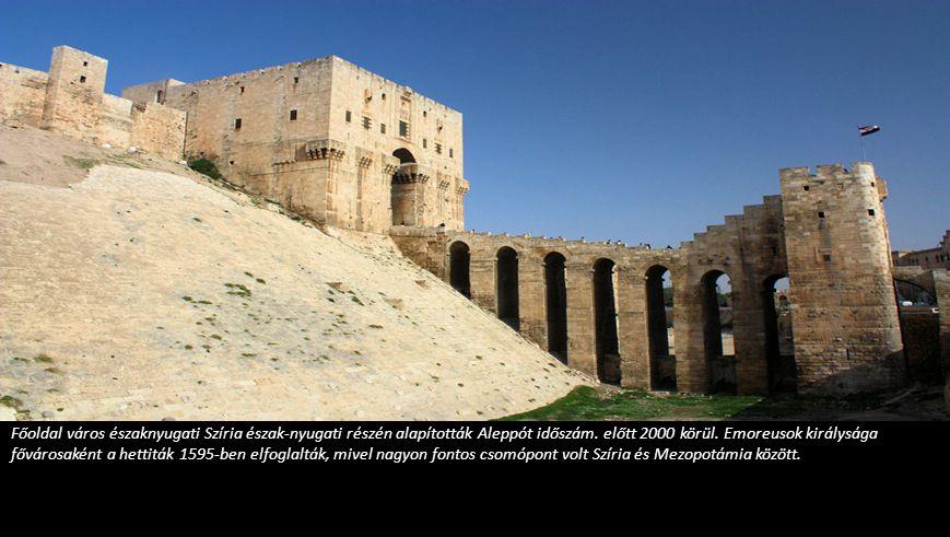Főoldal város északnyugati Szíria észak-nyugati részén alapították Aleppót időszám.