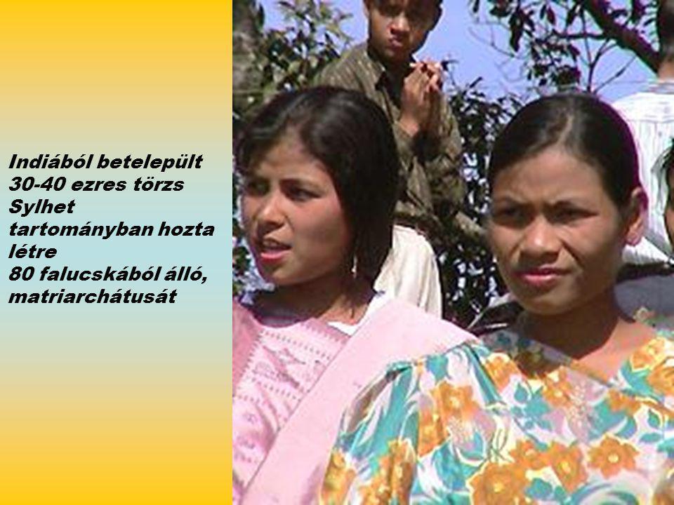 Indiából betelepült 30-40 ezres törzs