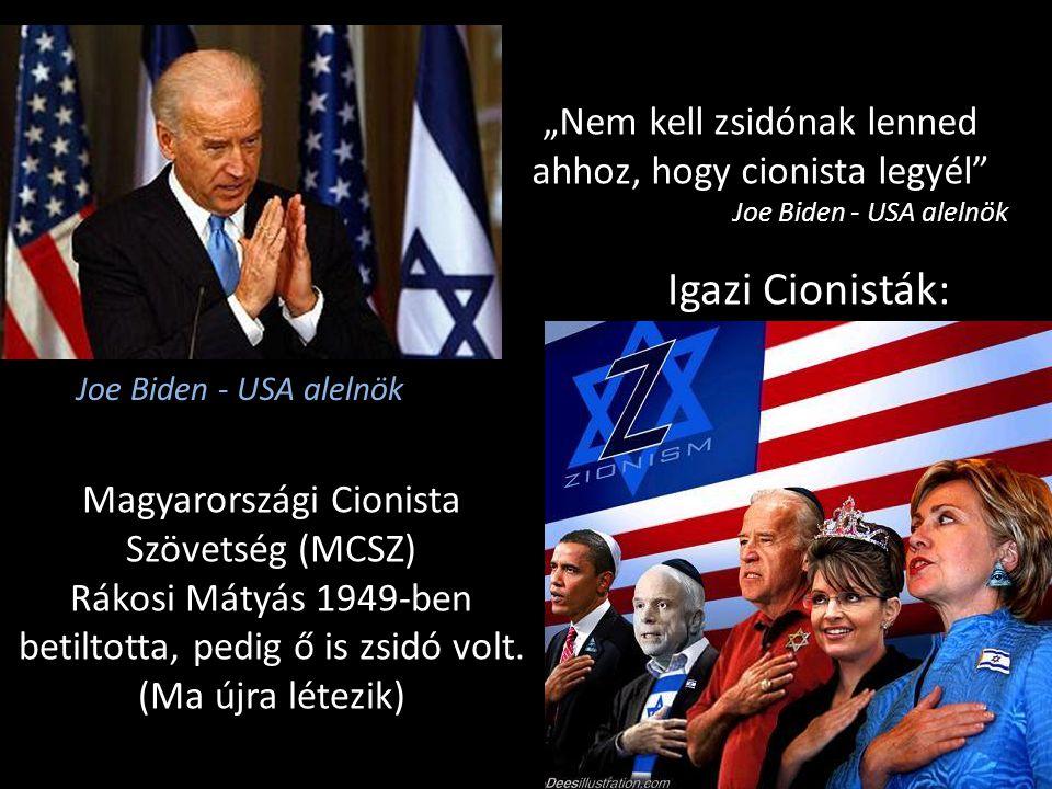 """""""Nem kell zsidónak lenned ahhoz, hogy cionista legyél"""