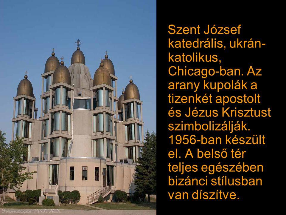 Szent József katedrális, ukrán-katolikus, Chicago-ban
