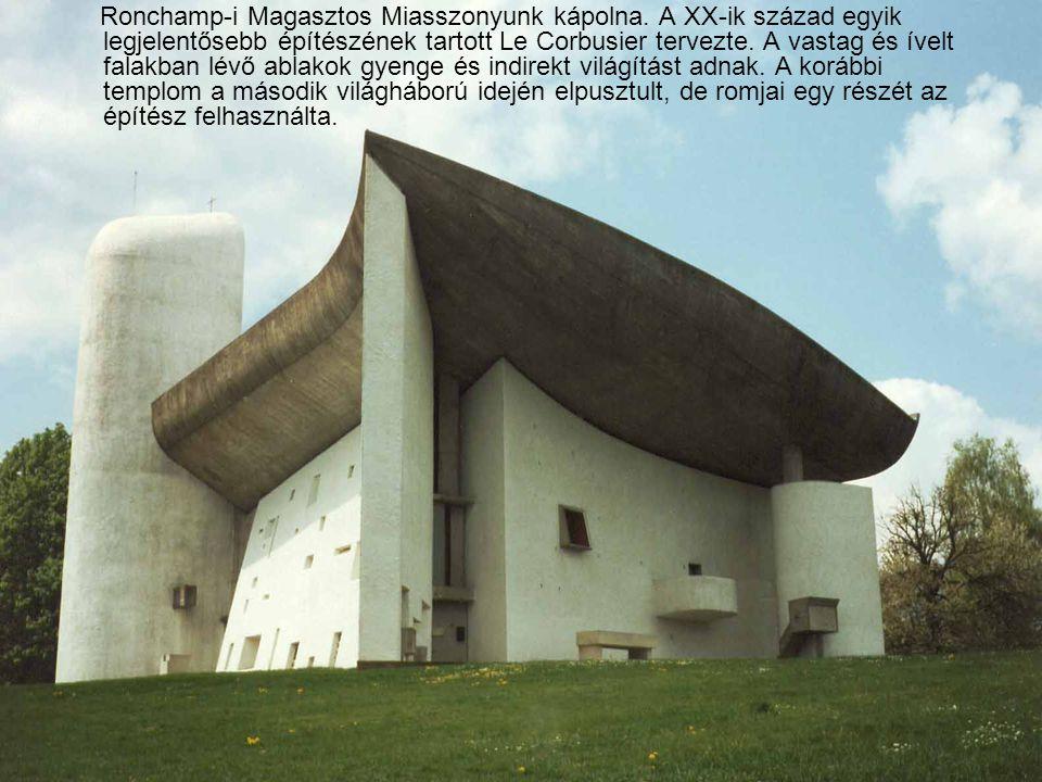 Ronchamp-i Magasztos Miasszonyunk kápolna