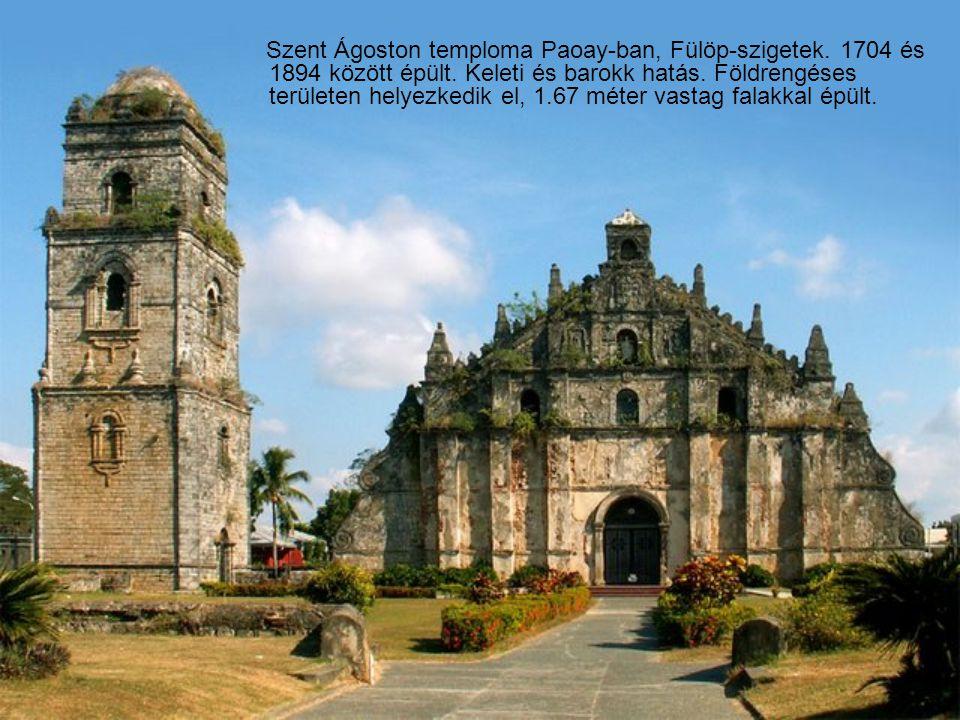 Szent Ágoston temploma Paoay-ban, Fülöp-szigetek