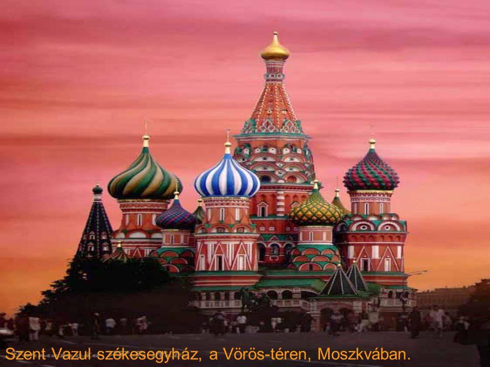 Szent Vazul székesegyház, a Vörös-téren, Moszkvában.
