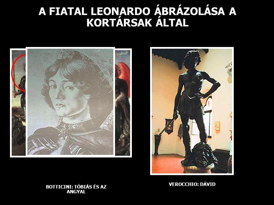 A FIATAL LEONARDO ÁBRÁZOLÁSA A KORTÁRSAK ÁLTAL