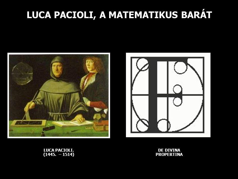 LUCA PACIOLI, A MATEMATIKUS BARÁT