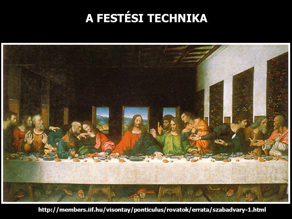A FESTÉSI TECHNIKA