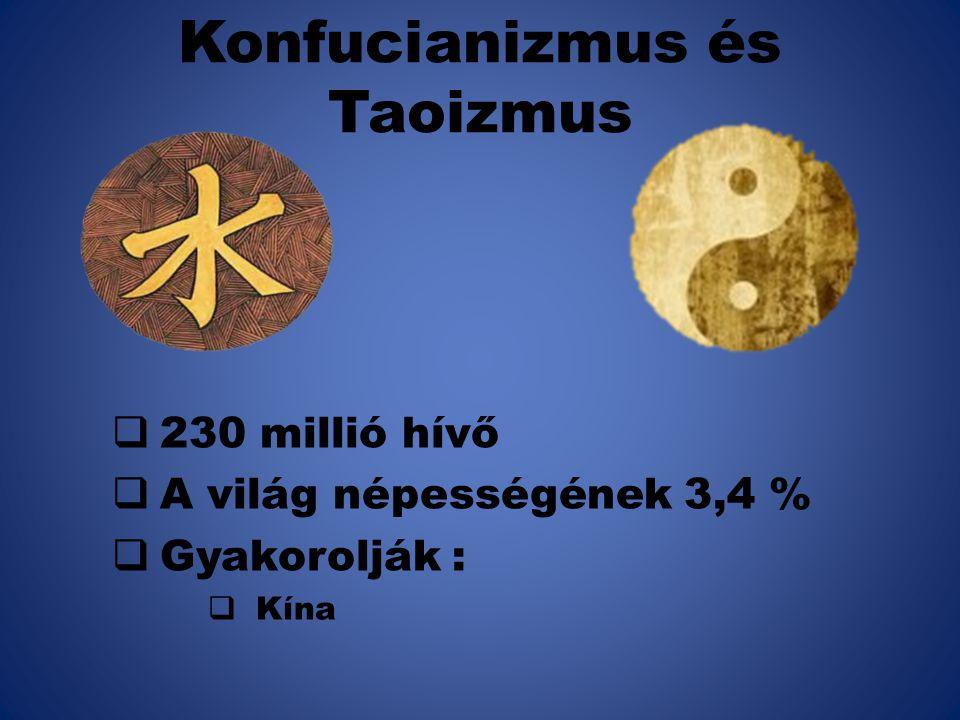 Konfucianizmus és Taoizmus
